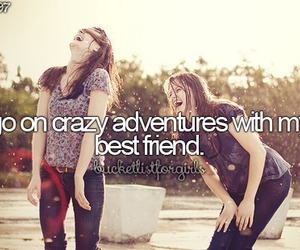 adventure, best friends, and friends image