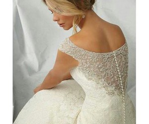 bride, details, and hair image