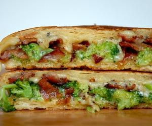 ale, bacon, and broccoli image