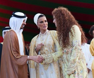 girls, morocco, and lalla salma image