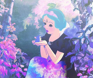 bright, forest, and punk disney image