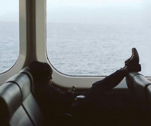 girl, sea, and travel image