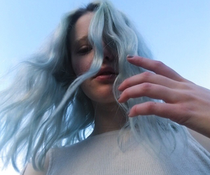 aesthetic, dyed hair, and fashion image