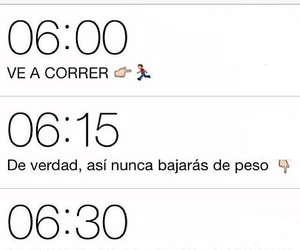 frases, correr, and ejercicio image