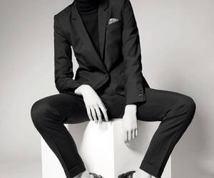 suit and woman image