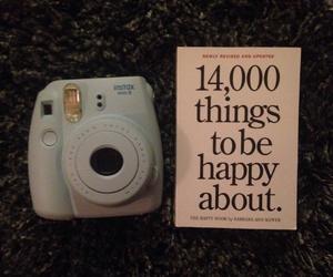 book, camera, and christmas image