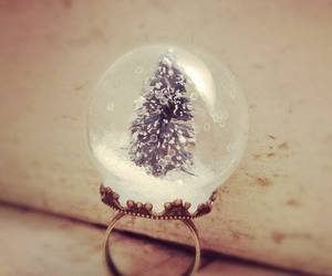 ring, christmas, and snow image