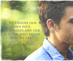 quote and stefan salvatore image