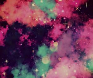 galaxy, wallpaper, and pink image