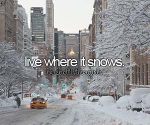 Dream, new york, and snow image