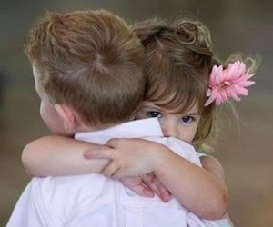love, hug, and kids image