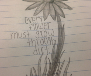 better, flower, and quote image