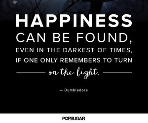 dumbledore, happiness, and quotes image