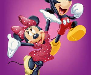 disney, mouse, and wallpaper image