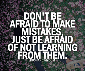 mistakes and quote image