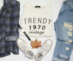 fashion, outfit, and trendy image