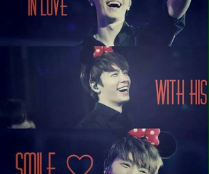 donghae, love, and smile image