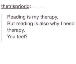 books, therapy, and love image