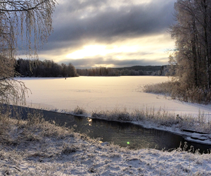 christmas, snow, and sweden image
