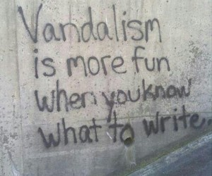 vandalism, grunge, and fun image