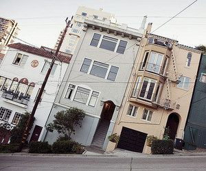 house, city, and street image