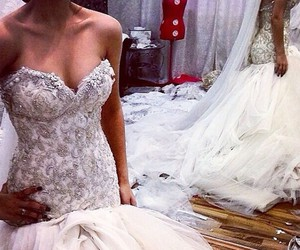clothes, fashion, and wedding image