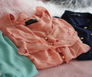 fashion, blouse, and topshop image