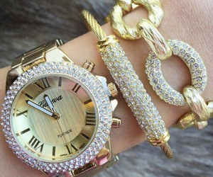 accessories, bling, and bracelets image