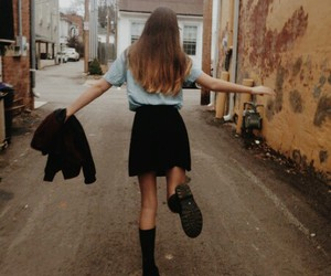 girl, grunge, and fashion image