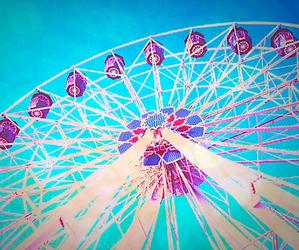 fair, ferris wheel, and photography image