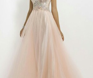 dress, girly, and prom dress image