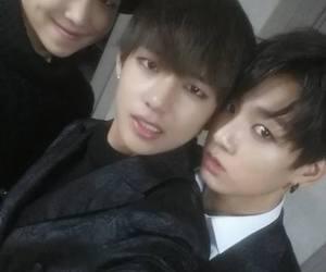bts, jungkook, and v image