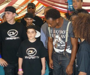 terry smith, ashley banjo, and warren russell image