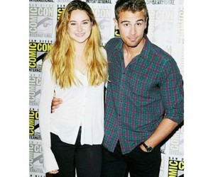 comic con, four, and Shailene Woodley image