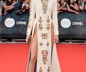 kendall jenner, dress, and red carpet image