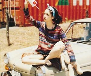 girl, car, and kiko mizuhara image