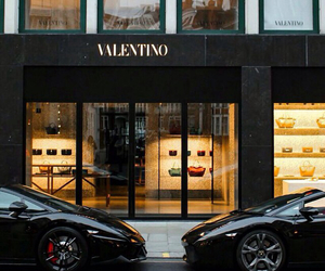 luxury, car, and Valentino image