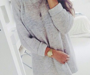 clothes, fashion, and sweater image