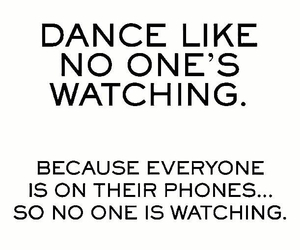alone, dance, and happy image