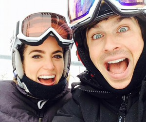 ian somerhalder, nikki reed, and the vampire diaries image