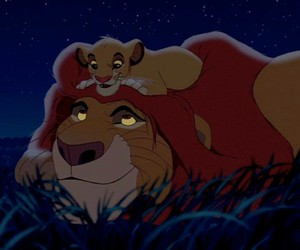 disney, family, and the lion king image