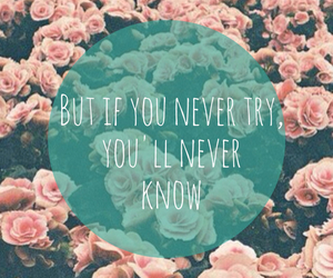flowers, quote, and inspiration image