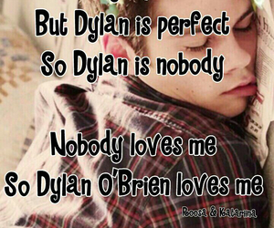 nobody, dylan o'brien, and stiles stilinski image