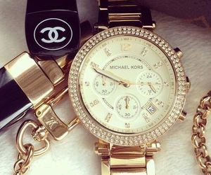 chanel, watch, and Michael Kors image