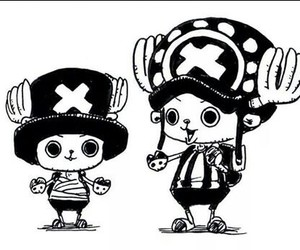 one piece, chopper, and anime image