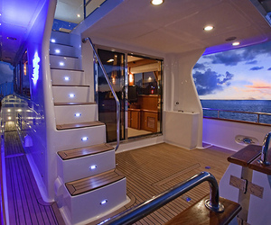 luxury, ocean, and yacht image