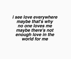 me, quote, and sad image