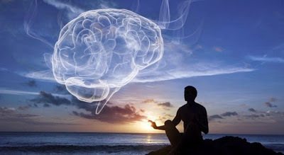 brain, positive, and meditation image