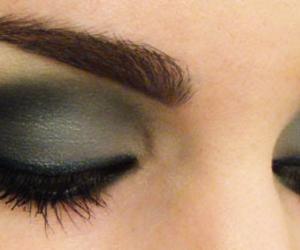 eyes, make, and make up image