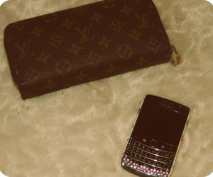 blackberry and Louis Vuitton image